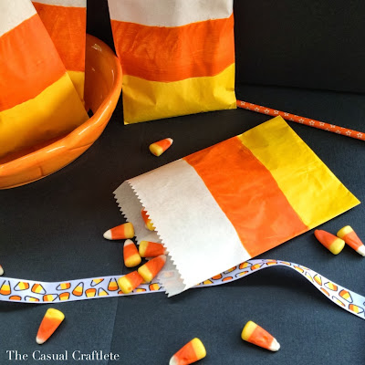 Candy Corn Treat Bags and 5 Must-Try Crafts for Halloween | #halloween #crafts #diy #holiday
